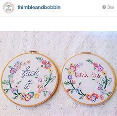 Rude thimble and bobbin