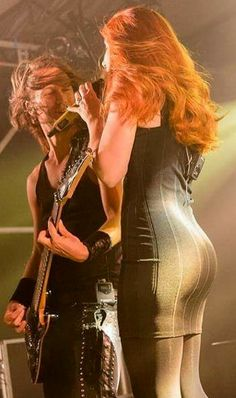 Epica Simone Simons rear