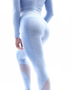 Blue Seamless Leggings | Workout Leggings | FitGal Activewear Spiral Pattern, Body Contouring, Seamless Leggings, Workout Leggings, Activewear, Slim, Stylish, Fabric, Outfits