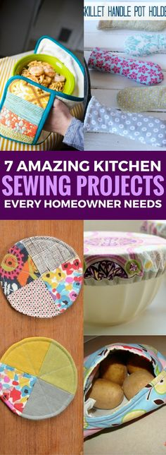 Looking for great Kitchen Sewing Projects that are super useful and easy to follow sewing tutorials specially designed for the home and kitchen? Then this one is just for you! Simple kitchen sewing projects that are good enough to even gift someone!