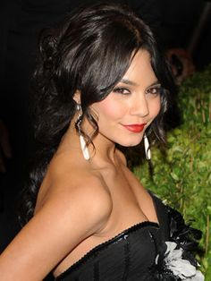 Vanessa Hudgens is stunning with a glam updo!