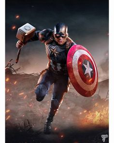 Marvel Avengers, Iron Man Avengers, Marvel Art, Marvel Heroes, Captain America Drawing, Captain America Art, Captain America Wallpaper, Marvel Films, Marvel Characters