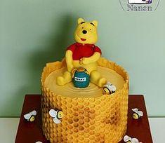 Gâteau Winnie l'ourson - Winnie the pooh cake