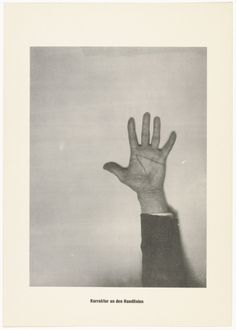 Sigmar Polke with Christof Kohlhöfer. The Correction of the Lines of the Hand (Die Korrektur an den Handlinien) from .....Higher Beings Ordain (.....Höhere Wesen befehlen), 1968