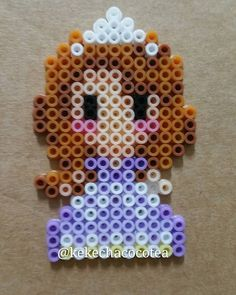 Princess Sofia perler beads bykekechacocotea