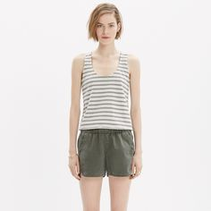 Pull-On Shorts : shorts | Madewell