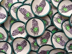 Secret Order of The Slime : Embroidered Scout Patch