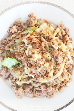 Clean Eating Dinner Recipe – Organic Ground Pork Stir Fry | Clean Eating Diet Plan | Clean Eating Meal Plan | Clean Eating Recipes
