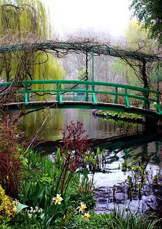 Monet's Magical Bridge, Giverny, France. Photo by Susie Weaver.