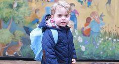 Le prince George a fait son premier jour à la crèche