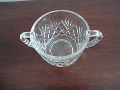 EAPG Pineapple Pattern Open Sugar Dish