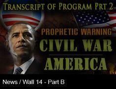 A Warning of Coming Civil War!:The end result will be…a slaughter! The country will find itself mired in a conflict against its own citizens!