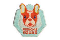 Frenchie Squad | Patch- zee.dog