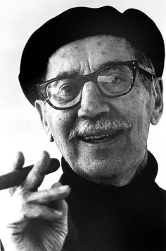 Groucho Marx (Who I just realized my Uncle Walter looks very much like these days)