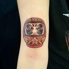 Cute wittle Daruma doll #tattoo #ink #art #tattoos #tattooartist