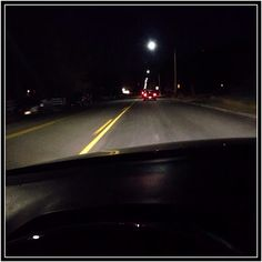 Nighttime drive (well, actually early morning drive)