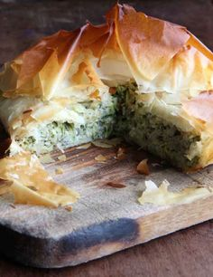 This is based on an intriguing, delicious Greek dish that Hugh found in a battered old copy of Mediterranean Vegetable Cookery by Rena Salaman. The rice steals the water from the grated courgettes and plumps up as the two cook together inside the pie. It's as tasty as it is cunning.