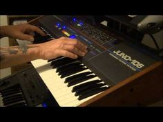 Analog Monsters Roland Juno-106 does ARP SOLINA String Synthesizer!