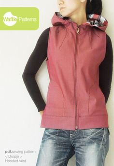 Waffle Patterns Dropje Hooded Vest - for me!