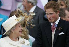 Even the Queen Smiles Around Him