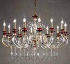 #pendantlamp #cellinglamp #interior #design #interiordesign Светильник  потолочный подвесной Euroluce Aurora, AuL12SGR