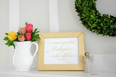 Gold Foil Mother's Day Sign