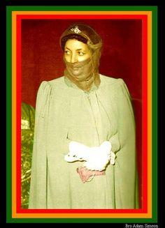 Empress Menen Women In History, Black History, African History, History Of Ethiopia, Rastafarian Culture, Ethiopian Beauty, Black King And Queen, Reggae Style, Jah Rastafari