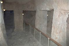This is a dungeon below the house of Caiaphas wherein Jesus may have spent the… Pentecostal Christian, Apostolic Pentecostal, Israel Trip, Israel Travel, Israel History, Ancient History, Places Around The World, Around The Worlds, Paisajes