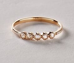 20 Non-Traditional Engagement Rings That Are Crazy Beautiful via Brit + Co