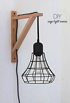 éclairages de chevets DIY