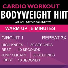 Bodyweight Home HIIT Workout for Women