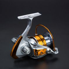New 6BB Spinning Fishing Reel 2000-6000 5.5:1 High Speed Fishing Reel Left/Right Handle Metal Line Cup Super Hard Fishing Reel