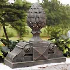 Pineapple Finial Pediment - 34257A-L