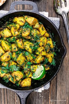 Middle Eastern Spicy Potato Salad Recipe (Batata Hara)