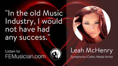 FEM41 How To Make Money As A Musician When You Don't Perform Live with Leah McHenry
