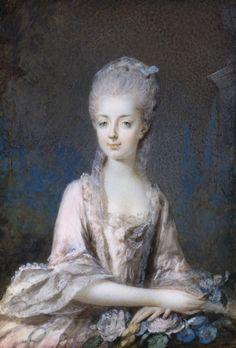Portrait de Marie-Amélie d'Autriche, vers 1768 Eusebius Johann Alphen