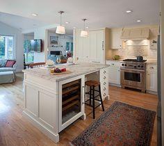 almacenamiento en cocina de techo bajo - Cómo disimular los techos bajos