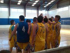 Júniors: l'Olleria Bàsquet - CB Genovés (13-4-2014). Foto: Maria Jesús Albiñana