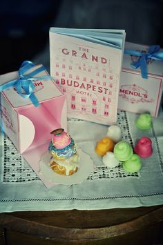 MENDL's courtesan au chocolat, inspired from The Grand Budapest Hotel movie #diy