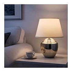 """IKEA - RICKARUM, Table lamp, 19 """", , Creates a soft, cozy mood light in your room."""