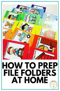 Prep your file folde