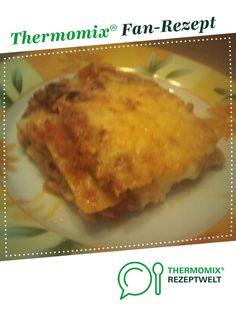 weltbeste Lasagne von Stefanieee. Ein Thermomix ® Rezept aus der Kategorie Hauptgerichte mit Fleisch auf www.rezeptwelt.de, der Thermomix ® Community.