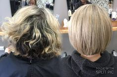 Beige blonde bob perfection