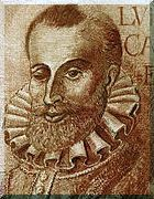 LUÍS VAZ DE CAMÕES, ou simplesmente CAMÕES, poeta português, considerado uma das maiores figuras da literatura em língua portuguesa e um dos grandes poetas do Ocidente.