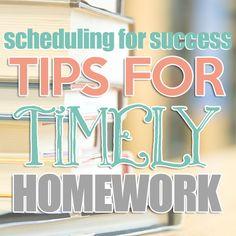 After school homework