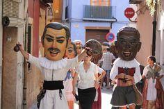 Cabezudos..big heads Corpus Cristi