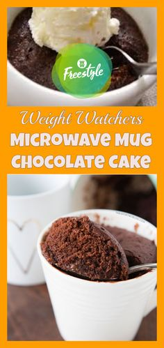 weight watchers mug cake microwave freestyle - weight watchers recipes