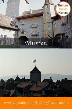 Murten - Historic towns of Switzerland Seen, Herzog, Switzerland, Mansions, House Styles, Home, Fun Places To Go, Road Trip Destinations, Mountains