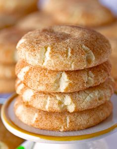 Snickerdoodles by Deliciously Yum!