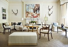 Asymmetric living room  Portfolio   Robert Brown Interior Design
